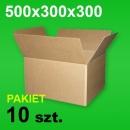Karton 500x300x300 P-10 szt.