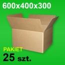 Karton 600x400x300 P-25 szt.