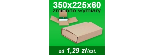 Multibox 350x225x60 mm A4/+